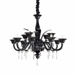 Люстра Ideal lux RENOIR SP12 NERO 045672