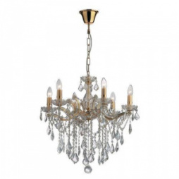 Люстра Ideal Lux FLORIAN SP6 ORO 035635