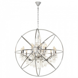 Люстры подвесные Loft IT Loft LOFT1896/15 Foucaults orb crystal