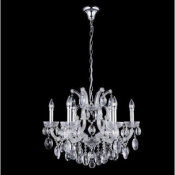 Люстра Crystal Lux HOLLYWOOD SP6 CHROME 2010/306
